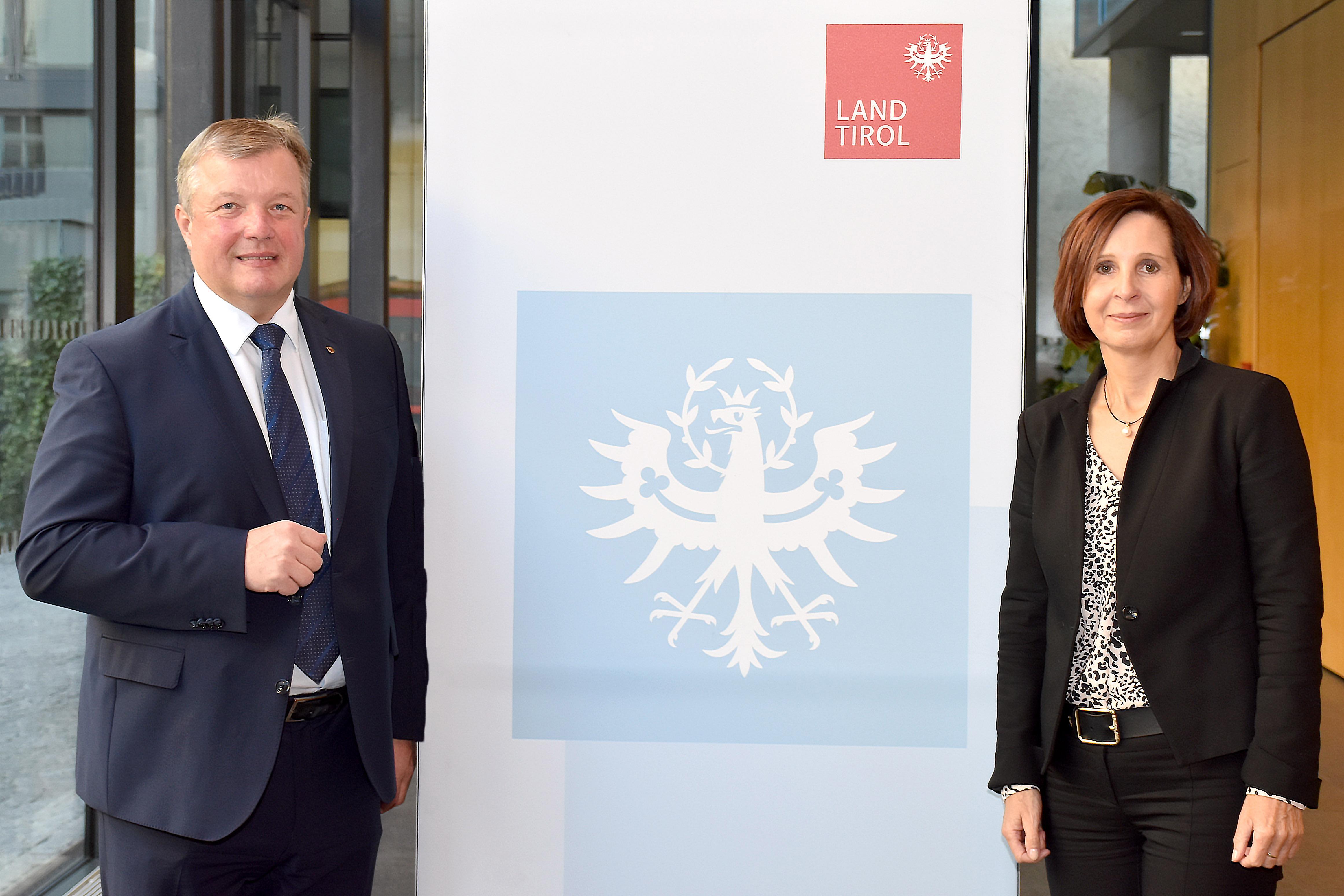 Landesrat für Gesundheit und Landesrätin Soziales Tirol